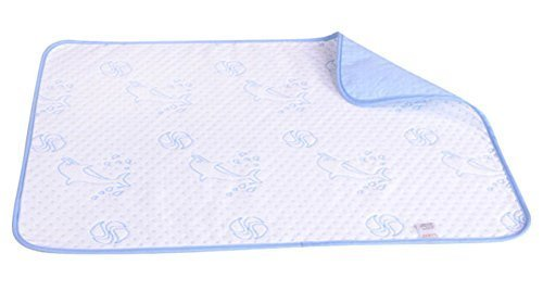 Unique Baby Home Travel Urine Pad Mat Cover Changing Pad 7050cm, Dolphin