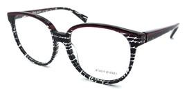 Alain Mikli Rx Eyeglasses Frames A03050 E009 55x16 Black Spots / Red / Black - $105.06