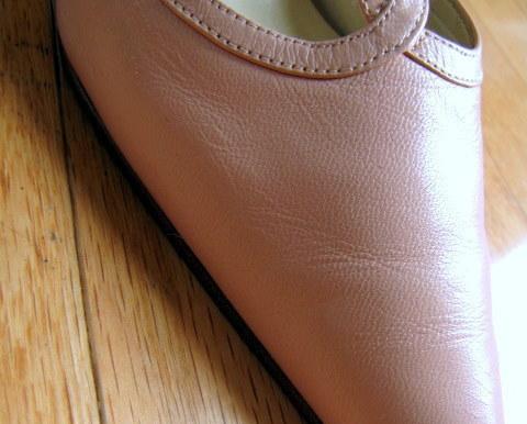Soft Pink Colin Stuart Leather Pumps