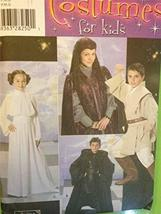 Simplicity 4426 (0578) - Costumes for Kids - Star Wars - Size S, M, L - $74.99