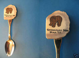 Steamboat Mountain Alaska Hwy Hand Paint Souvenir Spoon - $9.99