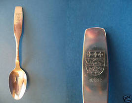 Province Of Quebec Souvenir Spoon Oneida Silversmiths - $6.99