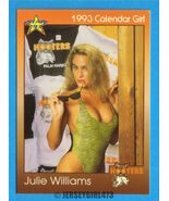 Julie Williams 1993 Hooters Calendar Girl Card #59 - $2.00