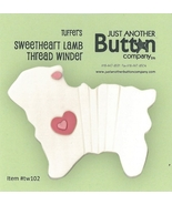 Sweetheart Lamb Winder tw102 Just Thread Winders JABC Just Another Butto... - $7.00