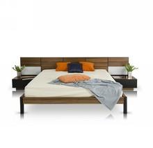VIG Modrest Rondo Walnut Queen Platform Bed w/N... - $1,771.00