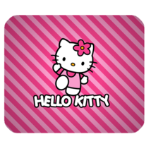 Mouse Pad Hello Kitty Cute Funny Pink Design Cartoon Animation For Game ... - €3,51 EUR