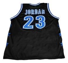 Michael Jordan #23 McDonalds All American New Basketball Jersey Black Any Size image 2