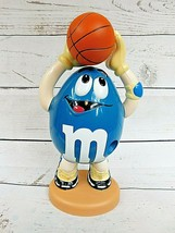 Official M&M's Brand Collectible Blue Peanut Basketball Player Candy Dispenser - $14.20