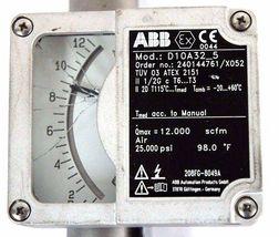 """NEW ABB D10A32-5 FLOWMETER 1/2"""" NPT ORDER NO. 240144761/X052 D10A325 image 3"""