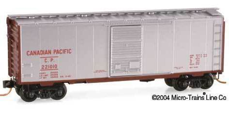 Micro Trains 20890 CP 40' Boxcar 221010