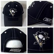 Pittsburgh Penguins Reebok Faceoff Hat Adjustable Strap One Size Fits Al... - $26.97