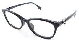 Fendi Rx Eyeglasses Frames FF 0337/F PJP 53-18-145 Blue Made in Italy As... - $147.00