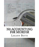 No Accounting for Murder - $9.99