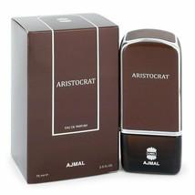 Ajmal Aristocrat by Ajmal 2.5 oz 75 ml EDP Spray for Men New in Box - $39.85