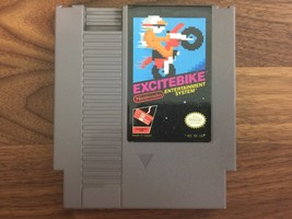 Excitebike (Nintendo Entertainment System, 1985) Tested! Free US Shipping - $13.37