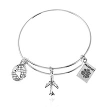 2018 Hot Sale Charm Bracelet For Women Fashion Silver Color Zinc Alloy B... - $9.41