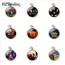 2019 New Design Rock Band Queen Stainless Steel Plated Charms Fashion Qu... - $7.54
