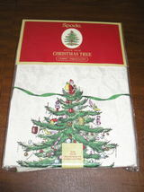Spode Christmas Tree 70 Inch Round Tablecloth NEW in Package - $35.00