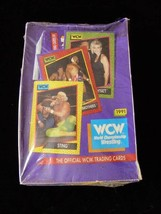 1991 WCW Wrestling Trading Cards Impel New Sealed Box Sting + More - $24.99
