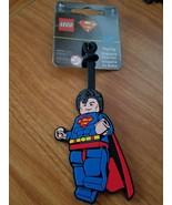 LEGO DC SUPERMAN LUGGAGE BAG TAG - $9.79