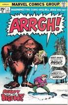 Arrgh! Humor Comic Book #3, Marvel Comics 1975 NEAR MINT - $27.01