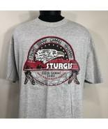 VTG Sturgis T Shirt 1999 Biker Trucker Eagle 90s Black Hill Rally Motorc... - $29.99