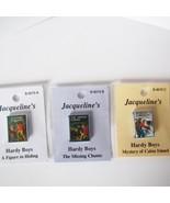 DOLLHOUSE 3 Books of Teen Boy Detective Stories Jacqueline's Miniature - $10.13