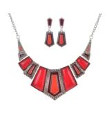 Brand Fashion Wedding Party Jewelry Sets Women Geometry Statement - $9.99