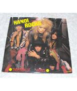 Hanoi Rocks 3 Track 12 Inch Black Vinyl Record Underwater World CBS - $22.99