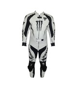 DAINESE WHITE MOTORBIKE 1 & 2 PIECE COWHIDE LEATHER CE ARMOURED WATERPRO... - $479.99