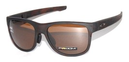 Oakley Crossrange R POLARIZED Sunglasses OO9369-0657 Rootbeer W/ Prizm Tungsten  - $79.19