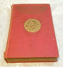 SHAKESPEARE COMPLETE WORKS ~ History, Life & Notes (1927 Hardcover Book) image 1