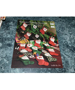 Miniature Christmas Stockings by Pat Waters leaflet 134 - $5.99