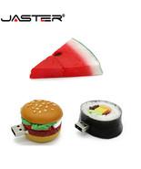 JASTER® Hamburger Food Usb Flash Drive Creative Sushi Watermelon Pendrive - $5.29+