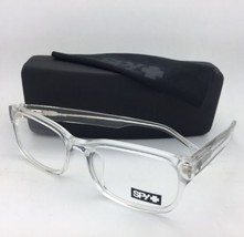 New SPY Optic Eyeglasses STEVIE 52-18 140 Crystal Clear Frame with Spring Hinges