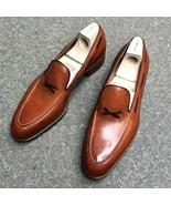 New Men Handmade Original Leather Shoes Moccasins, Men Formal Leather Sl... - $179.97+