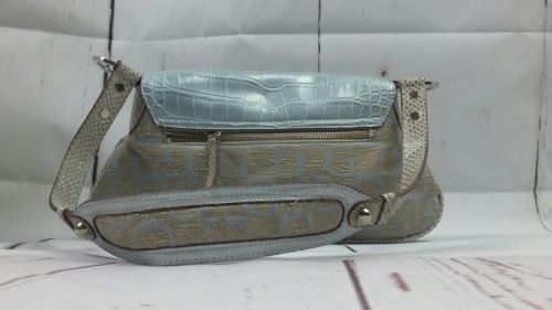 Guess hand bag Beige and Silver Purse