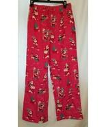NWOT Nite Nite Munki Munki Winter Christmas Santa Flannel Pajama Pants S... - $4.99