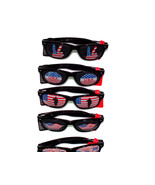 Novelty Holiday Patriotic Graphic Sunglasses / 40 Pieces - $89.05