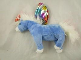 "Ty Beanie Babies Blue Pegasus 6"" 2002 Stuffed Animal Toy - $9.95"