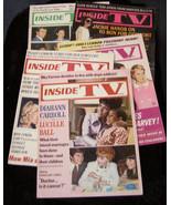 Diahann Carroll Lucille Ball mia farrow sinatra inside tv 5 magazines - $30.00