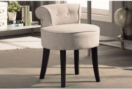 Baxton Studio Millani Beige Linen Modern Accent Stool - $161.72