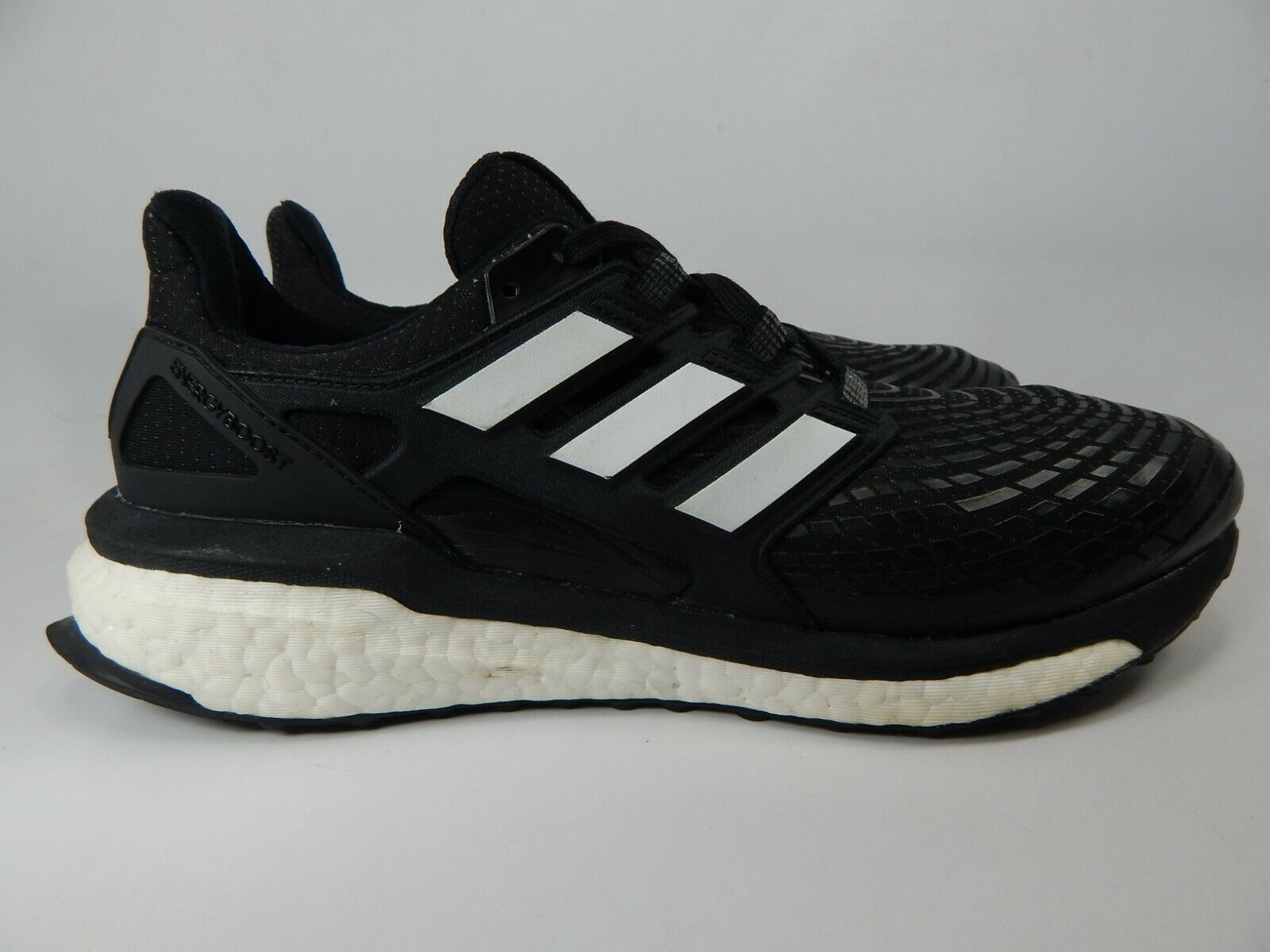 Adidas Energy Boost Misura USA 9.5 M (D) Eu 43 1/3 Uomo Scarpe da Corsa Nero