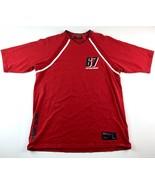 VTG Polo Ralph Lauren Jeans Men's Red 67 Spell Out T-Shirt Size Medium - $25.73