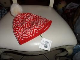 Vera Bradley cozy knit hat in Rosewood Intarsia NWT - $15.50
