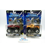 (2X) Muscle Machines T-Wrecks Jurassic Park Monster Truck 1:64 Scale - New - $24.70