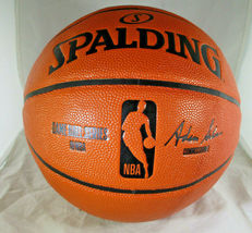 KLAY THOMPSON / GOLDEN STATE WARRIORS / AUTOGRAPHED FULL SIZE BASKETBALL / COA image 3