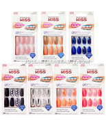 Kiss Glam Fantasy Ultimate Diamond 28 Nails Long Pre Designed Nail Tips ... - $7.99