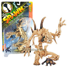 Year 1996 McFarlane Toys Spawn 8 Inch Tall Ultra Figure - SCOURGE with N... - $54.99