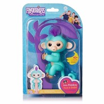 Fingerlings TURQUOISE Baby Monkey ZOE - $9.49